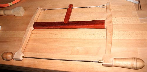 How I Built My Own Bow Saw Woodworking Blog