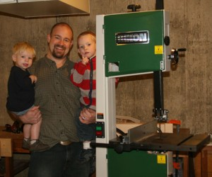The Rikon Bandsaw Giveaway: Interview with the Winner
