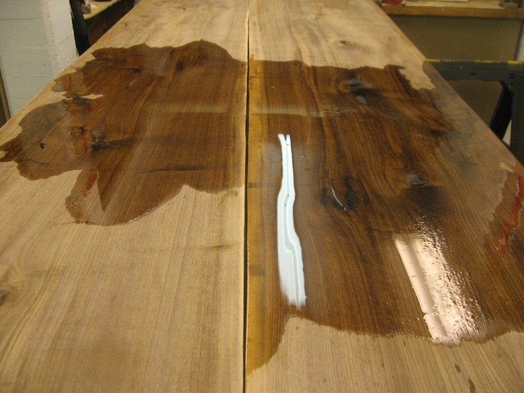 English Walnut with Finish