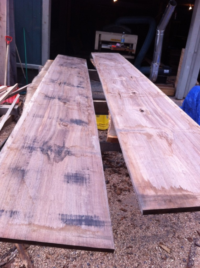 English Walnut Roughsawn
