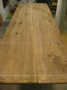 English Walnut Two-Board Top
