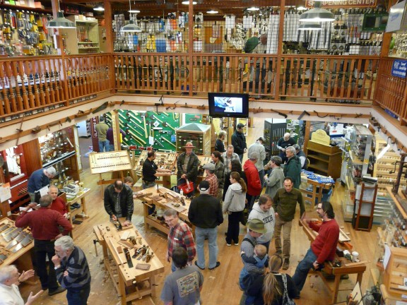A Store of Woodworkers