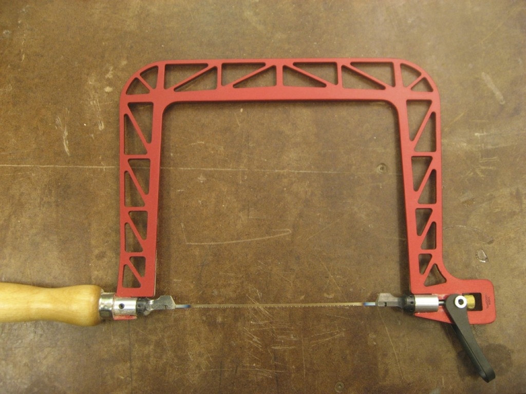 Knew Concepts Aluminum Coping Saw