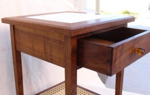Heirloom Walnut Side Table