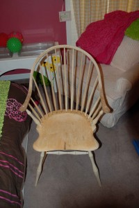 Finished-chair