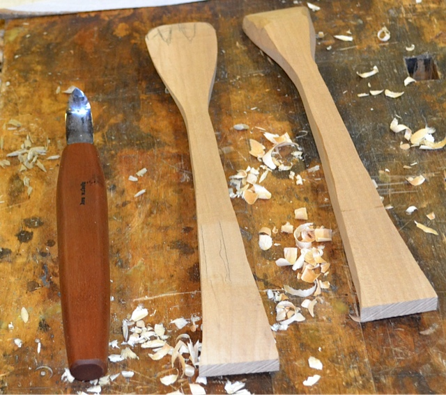 Spoon Carving Class at Highland