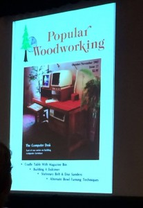 Possibly the first issue of Popular Woodworking