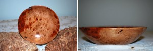 A Mawali Burl bowl I made as a gift.