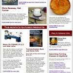 Our newest issue of The Highland Woodturner- July 2015
