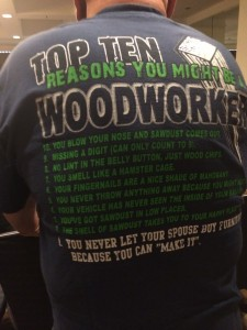Top Ten Reasons You Might Be a Woodworker