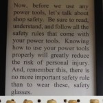 Tips from Sticks in the Mud – February Tip #2- The Convenience of Safety Glasses