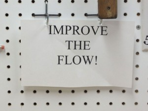 To constantly remind me to make the shop better, I have several iterations of this sign.