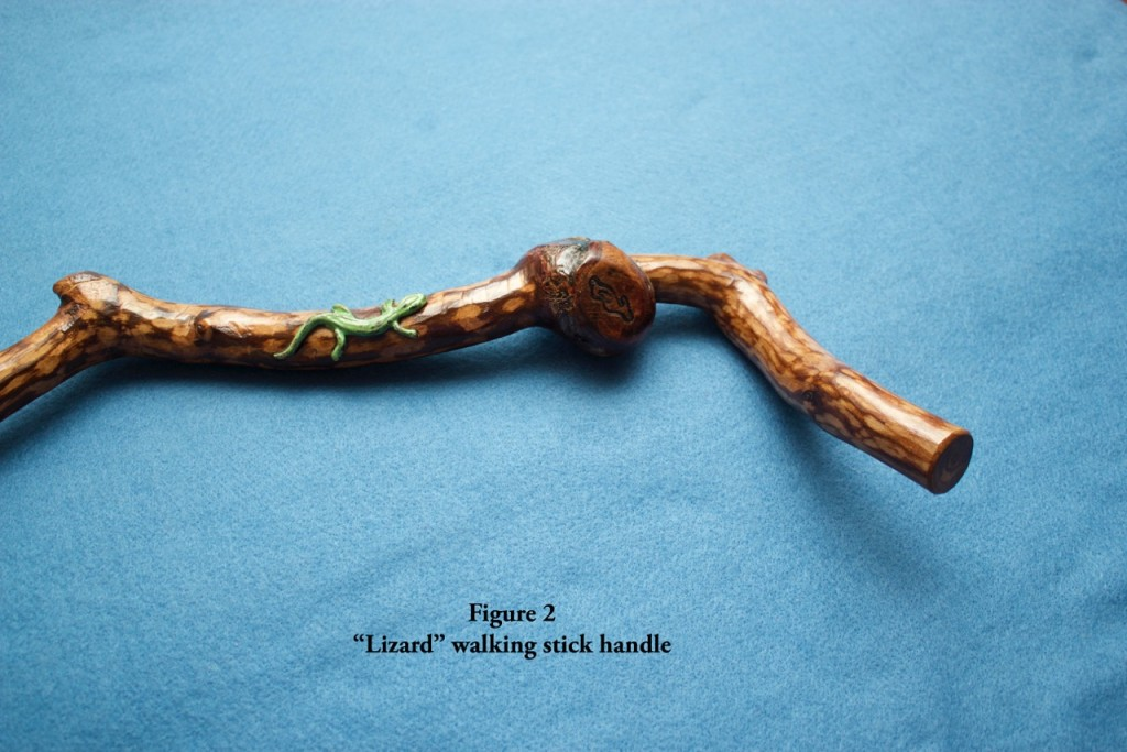 Fig 2 lizard handle