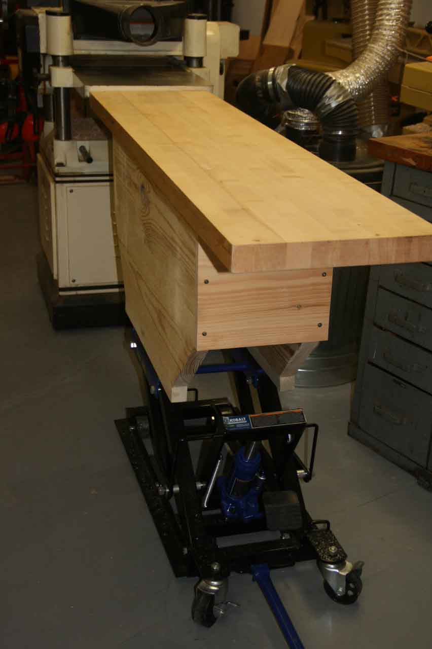 a solution to the run away planer - woodworking blog