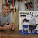 The new Tormek T-8 Sharpening System has (almost) arrived!