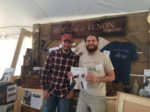 Michael Updegraff and Joshua Klein from Mortise & Tenon Magazine