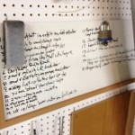 Write Down Your Woodworking Ideas and Shopping Lists