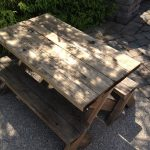Summer 2015 Woodworking Project: Youngest Grandkids' Picnic Table
