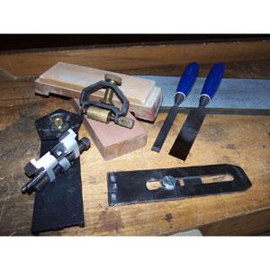 tool sharpening for a beginner