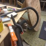 Fixing Workshop Shoes with Spring Clamps – Tips from Sticks in the Mud – June 2018 – Tip #2